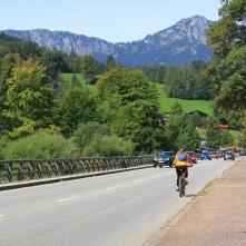 Durch Bischofswiesen führt aktuell kein Radweg