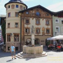 Seltende Lüftelmalerei ziert das alte Bürgerhaus